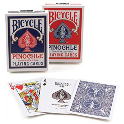 Playing Cards: Pinochle Standard (144)