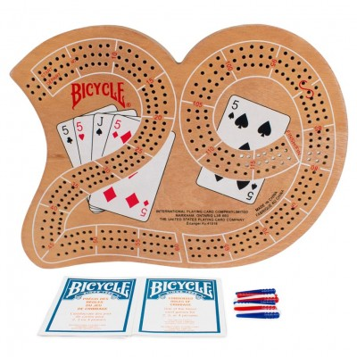 Cribbage Board Large 29 Wood