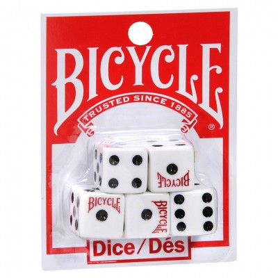 d6 Bicycle (5 dice/set)
