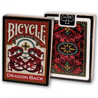 Playing Cards: Dragon RD/BU