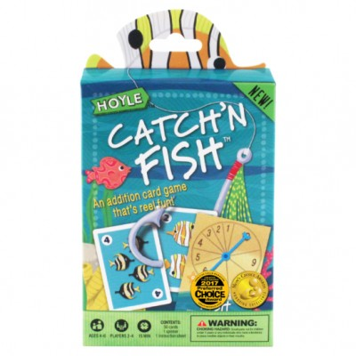 Child Card Games: Catch'n Fish