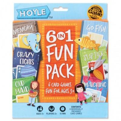 Child Card Games: 6 in 1 Fun Pack