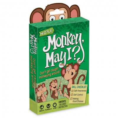 Child Card Games: Monkey May I