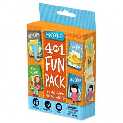 Child Card Games: 4 in 1 Fun Pack