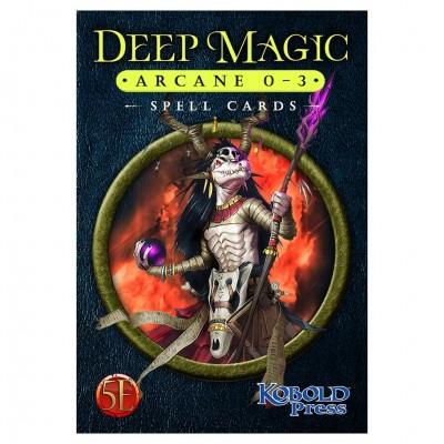 D&D 5E: Deep Magic Spell Cards:Arcane0-3