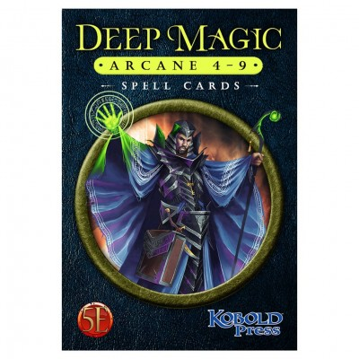 D&D 5E: Deep Magic Spell Cards:Arcane4-9