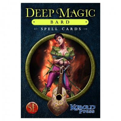 D&D 5E: Deep Magic Spell Cards: Bard