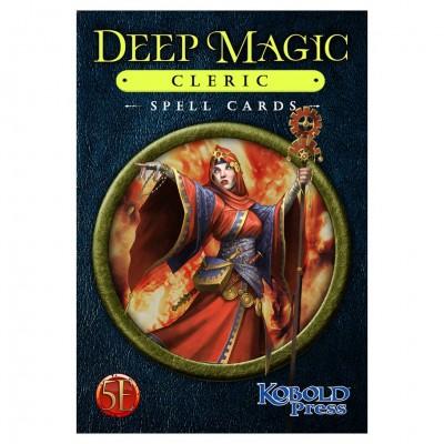 D&D 5E: Deep Magic Spell Cards: Cleric