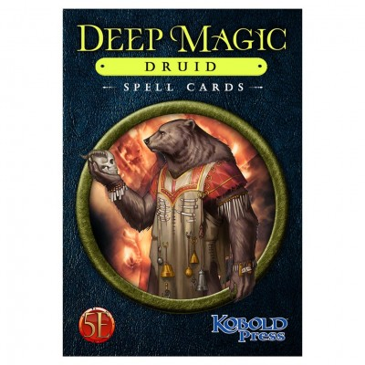 D&D 5E: Deep Magic Spell Cards: Druid