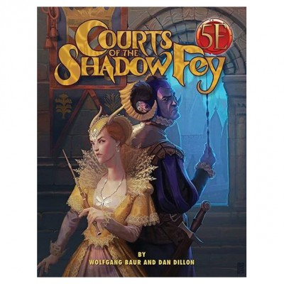 5E: Courts of the Shadow Fey HC