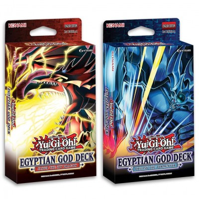 YGO: Egyptian God: Slifer & Obelisk