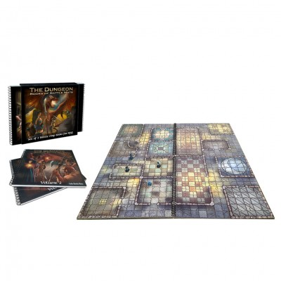 Dungeon Books of Battle Mats