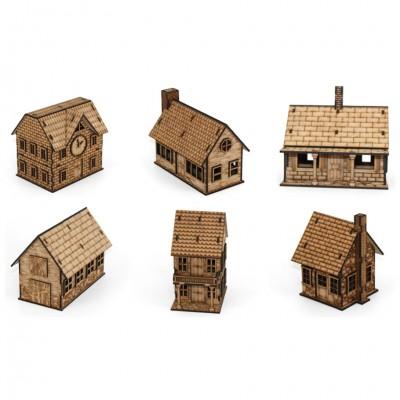 CV: Colonial Town Set