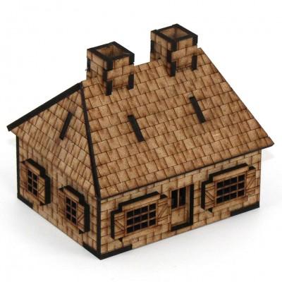 15mm: Villers-Bocage Farmhouse
