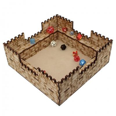Accessories: Dice tray (Castle)