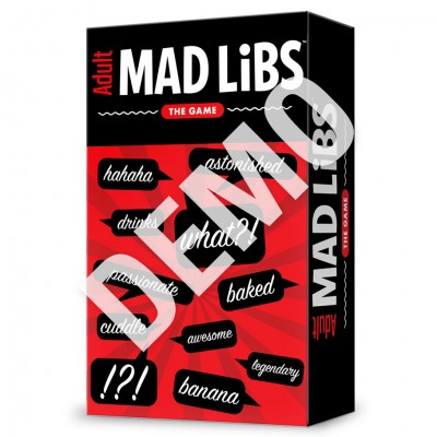 Adult Mad Libs: The Game Demo