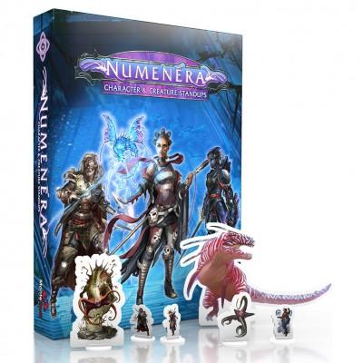 Numenera: Character & Creature Standups
