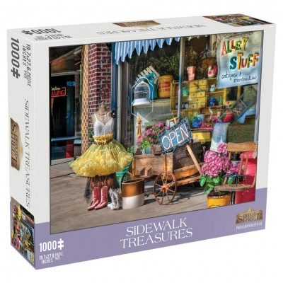Puzzle: Sidewalk Treasures 1000pc