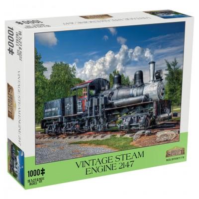 Puzzle: Vintage Steam Engine 1000pc