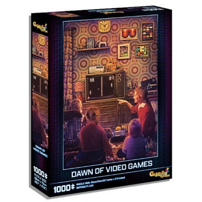 Puzzle: Dawn of Video Games 1000pc
