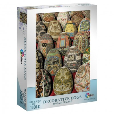 Puzzle: Decorative Eggs 1000pc