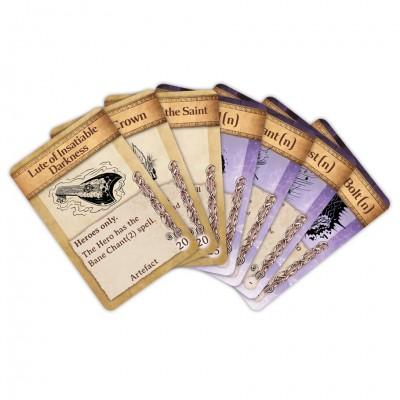 KoW2E: Artefact/Spell Cards