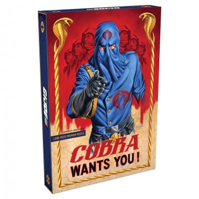 Puzzle: G.I. Joe Cobra Wants You! 1000pc