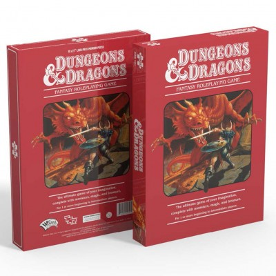 Puzzle: Dungeons & Dragons 1000pc