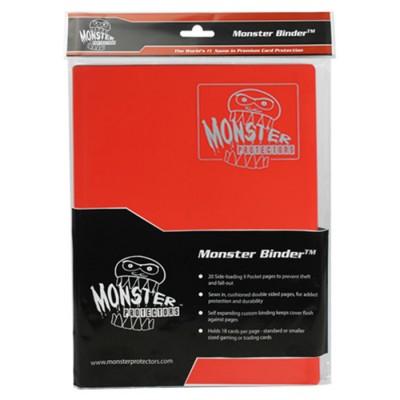 Binder: 9pkt: Monster: Matte RD