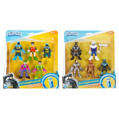 Imaginext: DC: Fig Pk Ast (6)