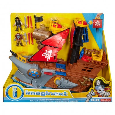 Imaginext: Shark Bite Pirate Ship