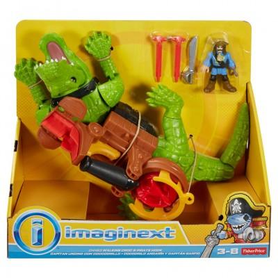 Imaginext: Walking Croc & Pirate Hook(2)