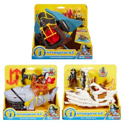 Imaginext: Pirate Feature 2Pk Ast (2)