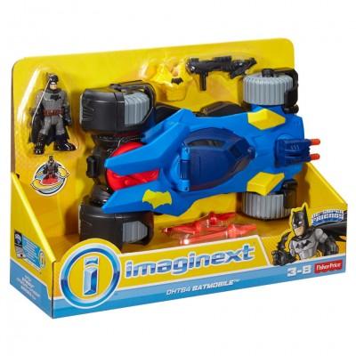 Imaginext: DC:SF: Batmobile (2)