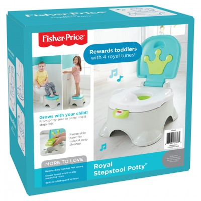 FP: Stepstool Potty: Royal (2)