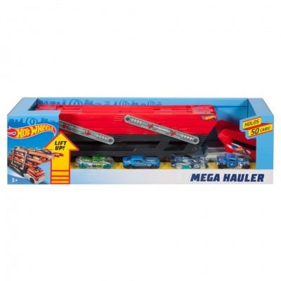 HW: Mega Hauler +4 Cars (4)