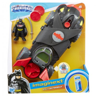 Imaginext:DC:SF:Ninja Armor Batmobile(2)