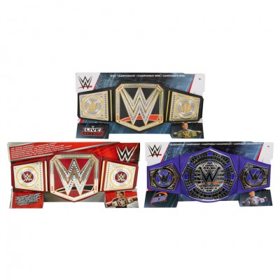 WWE: Championship Title Belt Ast (4)