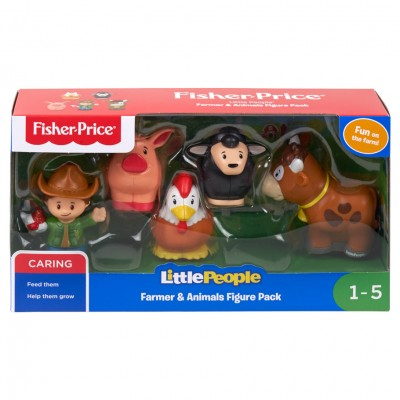 LP: Farmer & Animals Figure Pack (8)