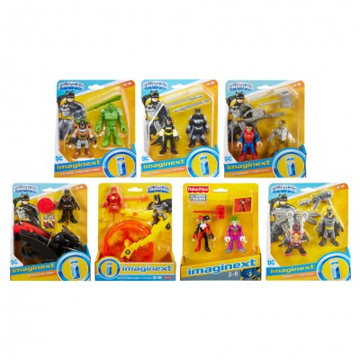 Imaginext: DC: Fig W/Acc Ast (8)