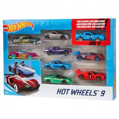 HW: Basic Car 9 Pk Ast (6)