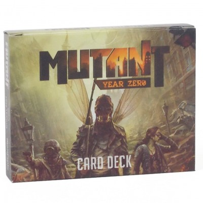 Mutant: Year Zero Card Deck