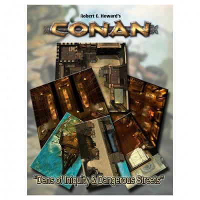 Conan: Dens of Intiquity/Streets Terror