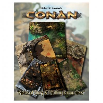 Conan: Fields Glory/Thrilling Encounters