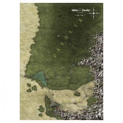 Symbaroum: Ambria & Davokar Map