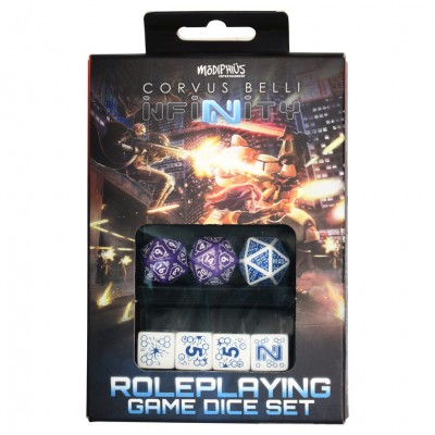 Infinity: Dice: Combined Army Set (7)