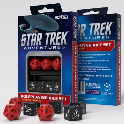 Star Trek Adv: Dice: RD RPG Set (7)