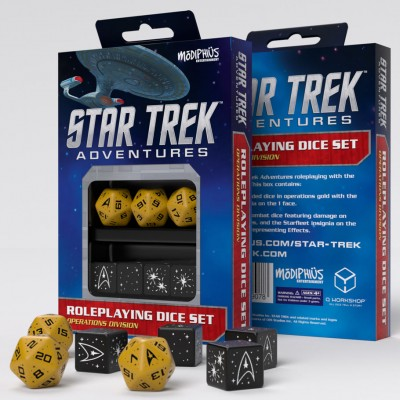 Star Trek Adv: Dice: GD RPG Set (7)