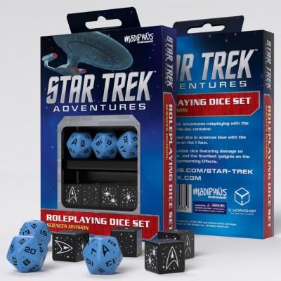 Star Trek Adv: Dice: BU RPG Set (7)