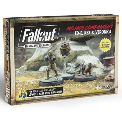 Fallout: WW: Ed-E, Rex & Veronica